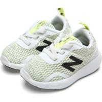 Tênis New Balance Menino Kcoast Branco/Verde