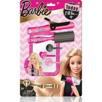 Barbie Hairstylist Blister Sortido Com Acessórios De Cabelo Material Plástico Indicado Para +3 Anos Rosa Multikids - Br810 - Padrão
