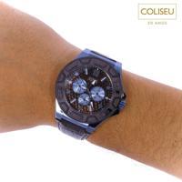 Relógio Masculino Guess Marrom E Azul - 92587Gpgsec4