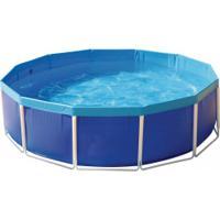 Piscina Redonda Estruturada Mor - 5500 Litros - Azul