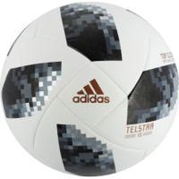 36ad5b14f0 Bola De Futebol De Campo Telstar Oficial Copa Do Mundo Fifa 2018 Adidas Top  Glider -