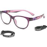 Óculos De Grau Mormaii Jump Violeta Brilho Masculino - Masculino