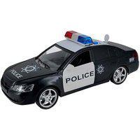 Carrinho De Polícia Com Luz E Som E Abertura De Portas Carrinho De Polícia Com Luz E Som E Abertura De Portas