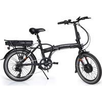 Bicicleta Elétrica Atrio Berlim Aro 20 250W Dobrável Preto – Bi182