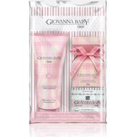 Kit Mini Colonia Giovanna Baby 20Ml + Loção Hidratante 200Ml + 1 Sabonete Em Barra 90G + Necessaire
