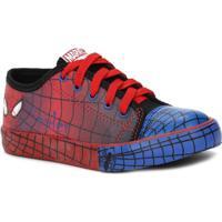 Tênis Marvel Homem-Aranha Infantil - Masculino-Vermelho