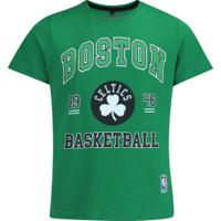Camiseta Nba Boston Celtics College - Infantil - Verde