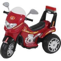 Moto Elétrica Biemme Sprint Bombeiro Vermelho