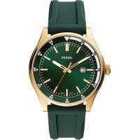 Relógio Analógico Fossil Masculino - Fs5597/8Dn Verde