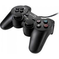 Controle Multilaser 3 Em 1 Js071 Ps2/Ps3/Pc Preto