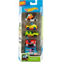 Pack Com 5 Carrinhos Hot Wheels Hw Fun Park - Mattel