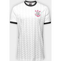 Camisa Corinthians Libertados Masculina - Masculino-Branco