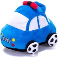 Chocalho De Pelucia Unik Toys Carro Azul
