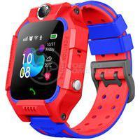 Smartwatch Relógio Inteligente Infantil Criança Q12 Localização Chamadas Sos Android E Ios Vermelho