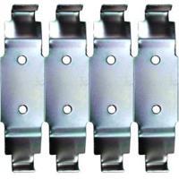 Suporte De Metal Bicromatizado Para 4 Disjuntores Kit-Flex