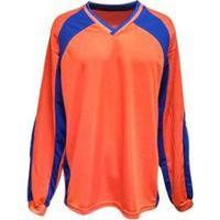 Camisa De Goleiro Modelo Turim Número 1 Kanga Sports - Unissex