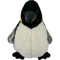 Pinguim De Pelúcia Imperador Médio
