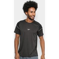 Camiseta Speedo Traction Masculina - Masculino-Preto