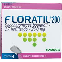 Floratil 200Mg Natulab 4 Envelópes