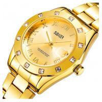 Relógio Feminino Oubaoer 6092L - Dourado