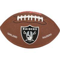 Bola De Futebol Americano Wilson Oakland Raiders