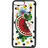 Dolce & Gabbana Case Iphone 7 Com Pedraria - Estampado
