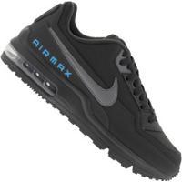 Tênis Nike Air Max Ltd 3 - Masculino - Cinza Esc/Azul Cla