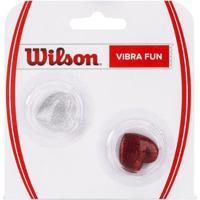 Antivibrador Wilson Vibra Fun Hearts Com 2 Unidades - Unissex