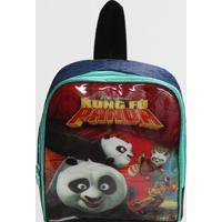 Lancheira Kung Fu Panda Infantil Clio Azul (Sortido, Único)