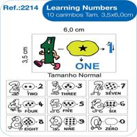 Carimbos Pedagógicos Learning Numbers - Fundamental - Kanui
