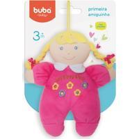 Boneca De Pano - 24 Cm - Primeira Amiguinha - Buba - Feminino