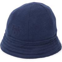 Il Gufo Chapéu Com Logo Bordado - Azul