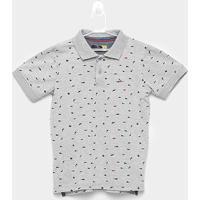 Camisa Polo Infantil Yachtmaster Tubarão Masculina - Masculino