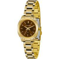 Relógio Lince Analógico Lrg4436Lm1Kx Feminino - Feminino-Dourado