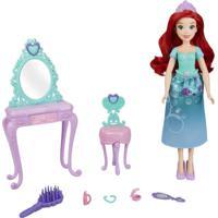 Boneca Disney Princess - Penteadeira Real Da Ariel - Hasbro