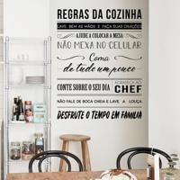 Frase Regras Da Cozinha