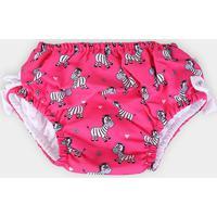 Fralda Ecológica Ecoeplay Proteção Uv Estampada Feminina - Feminino-Pink