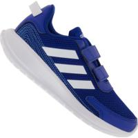 Tênis Adidas Tensaur Run C - Infantil - Azul/Branco