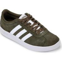 Tênis Adidas Vl Court 20 Masculino - Masculino-Verde+Branco