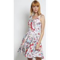 Vestido Floral - Rosa Claro & Pinkmoiselle