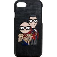 Dolce & Gabbana Capa De Iphone 7 Com Patch - Preto