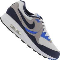 Tênis Nike Air Max Light - Masculino - Branco/Azul Esc