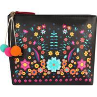 Necessaire Frida Collection (Estampado Floral, Único)