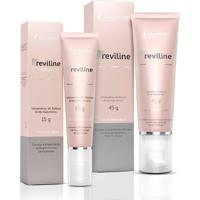 Kit Reviline Sérum Anti-Idade Mantecorp Skincare 45G + Creme Anti-Idade Olhos 15G
