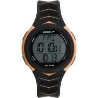 Relógio Speedo 80621G0Evnp3 Preto/Dourado