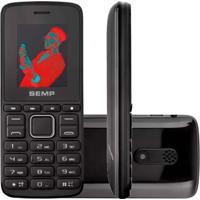 Celular Semp Go! 1L 128Mb 64Mb Ram 3G Com Rádio Fm Nacional Preto