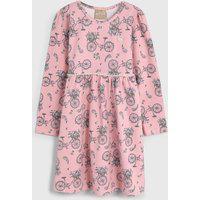 Vestido Milon Infantil Vintage Rosa
