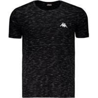Camiseta Kappa Authentic Jet - Masculino-Preto