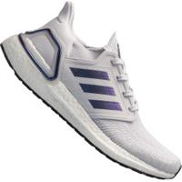 Tênis Adidas Ultraboost 20 - Masculino - Cinza Cla/Roxo