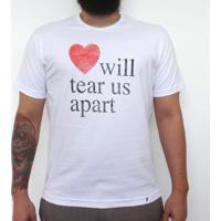 Love Will Tear Us Apart - Camiseta Clássica Masculina